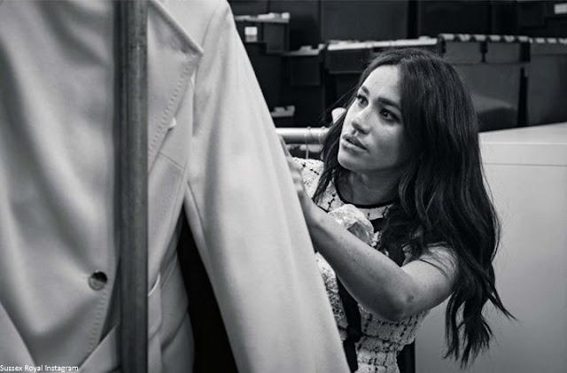 Księżna Meghan redaguje wrześniowego Vogue'a