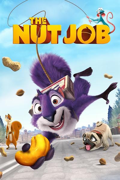 Poster of The Nut Job (2014) Dual Audio [Hindi-English] 720p BluRay ESubs Download