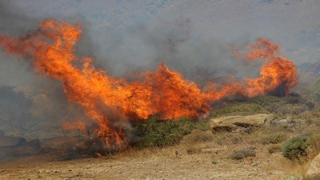 Σε υψηλό κίνδυνο σήμερα 1/10 η Αργολίδα για εκδήλωση πυρκαγιών
