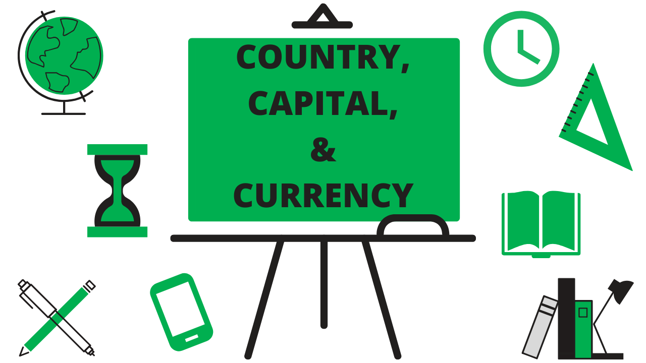 Country, Capital & Currency | Static GK | PDF File