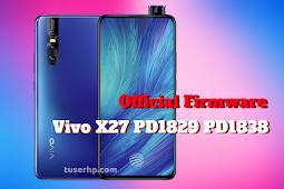 Firmware Vivo X27 PD1829