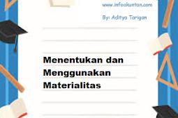 Menentukan dan Menggunakan Materialitas
