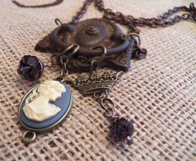 antique drawer pulley jewelry