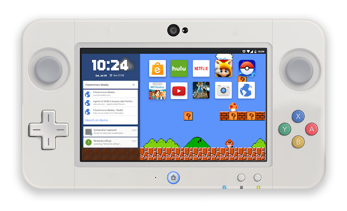 Concept: The Nintendo NX running Android