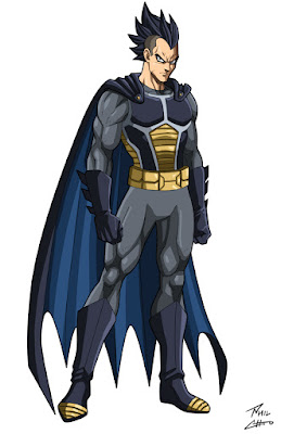 Vegeta Batman Dragon Ball