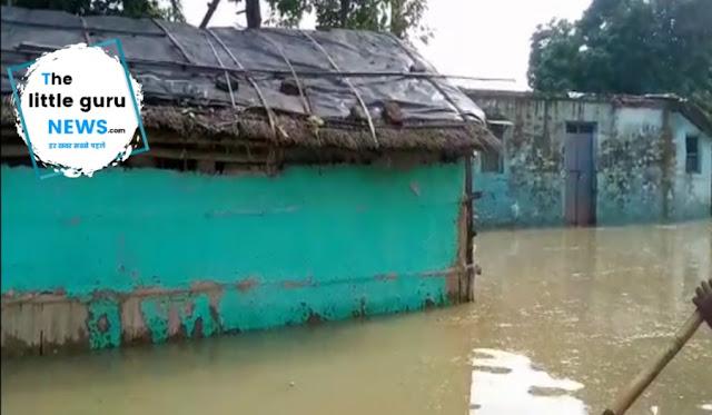 Patzilwa village flood in Chiraiya