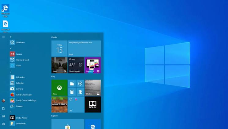 يضيف الإصدار التجريبي الجديد لنظام التشغيل Windows 10 20H1 خيارات