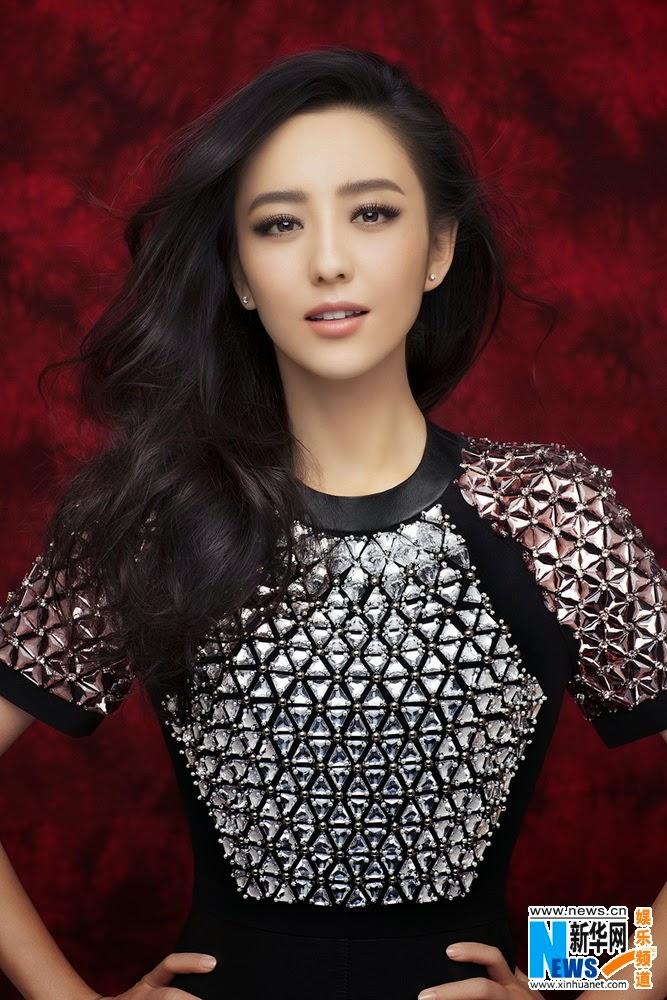 Tong Liya poses for fashion magazine | China Entertainment ...