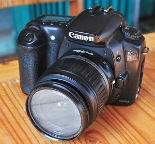 jual Canon EOS 20D Seken