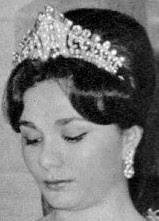 diamond tiara iran empress farah diba pahlavi