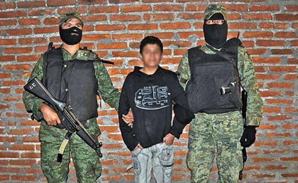 Detienen a presunto sicario de 15 años en Quintana Roo