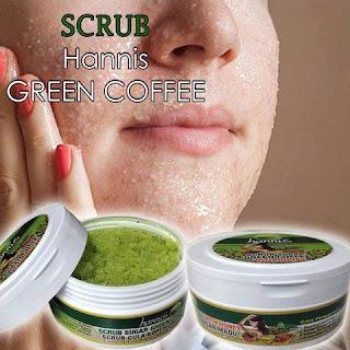 HANNIS SCRUB SUGAR GREEN COFFEE WITH HONEY
