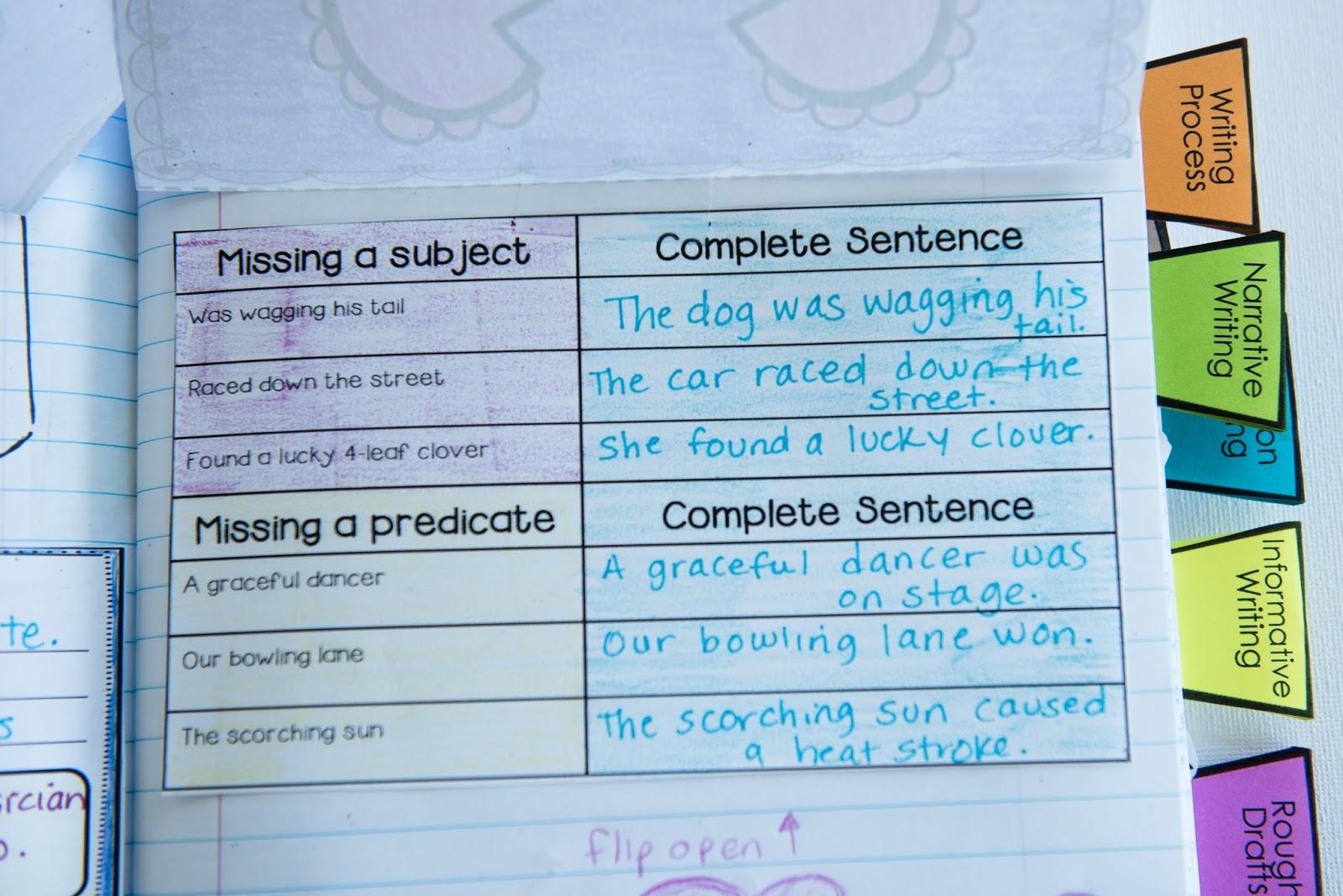 Workbooks » Sentence And Sentence Fragments Worksheets - Free ...