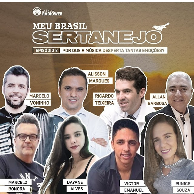 EPISÓDIO DE PODCAST  Meu Brasil Sertanejo: o trabalho dos artistas e o retorno dos fãs Meu Brasil Sertanejo