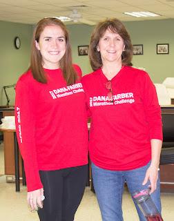 Katie Cameron (left) and Bonnie Cameron