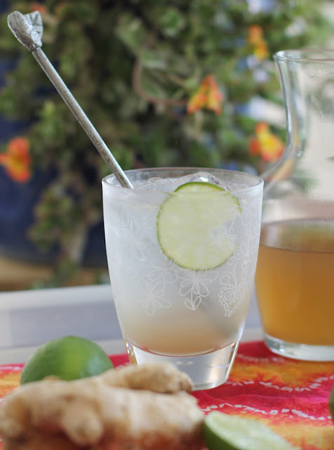 Food Lust People Love: Homemade ginger ale is a refreshing treat in hot weather, cooling you down even as it sort of warms you up inside. Make some and pour yourself a glass!