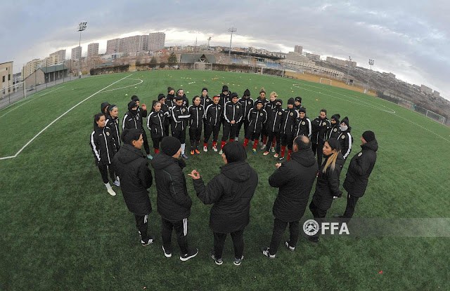 Armenia tiene equipo nacional de fútbol femenino