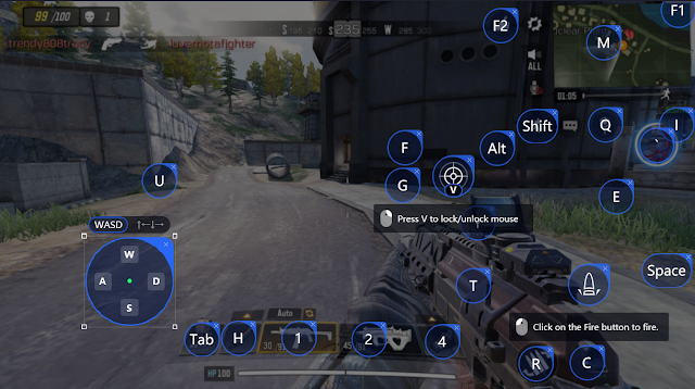 Update Key Mapping Call Of Duty Mobile Mode Battleroyale Tencent Gaming Buddy