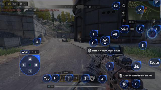 Di versi pertama key mapping yang kita buat ada sedikit error dimana saat bermain mode ba Update Key Mapping Call Of Duty Mobile Mode Battleroyale Tencent Gaming Buddy
