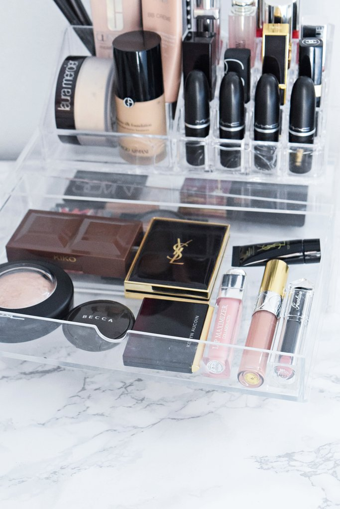 what's in my muji drawers, daily essentials, ysl bronzer, dior lip maximizer