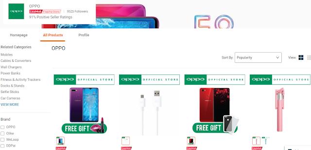 Oppo, LazMall, Handphone Oppo, Telefon Pintar, Telefon Bimbit, Oppo Malaysia, Lazada Malaysia, Shopathon Sale, My Favorite Brands On Lazada, Jenama, Lazada Shopathon Blogger Contest, 2018,
