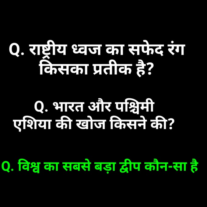 GK for Competitive exams || MCQ GK