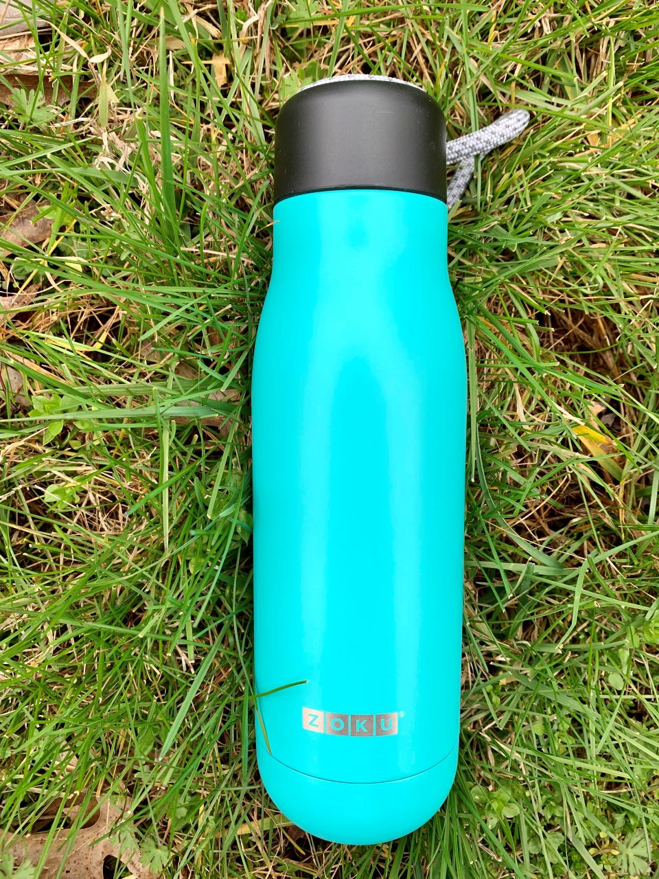 Zoku Stainless Steel water bottle with lanyard #ad