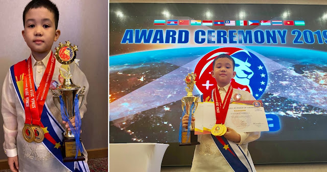 Grade 3 Pinoy Student Wins Two Gold Medals in International Math Competition in Vietnam