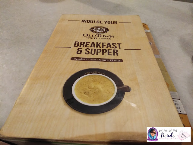 OLDTOWN WHITE COFFEE, MENU OLDTOWN, MENU BREAKFAST OLD TOWN WHITE COFFEE,