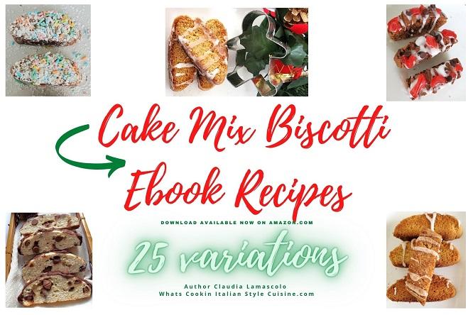 cake mix biscotti recipes