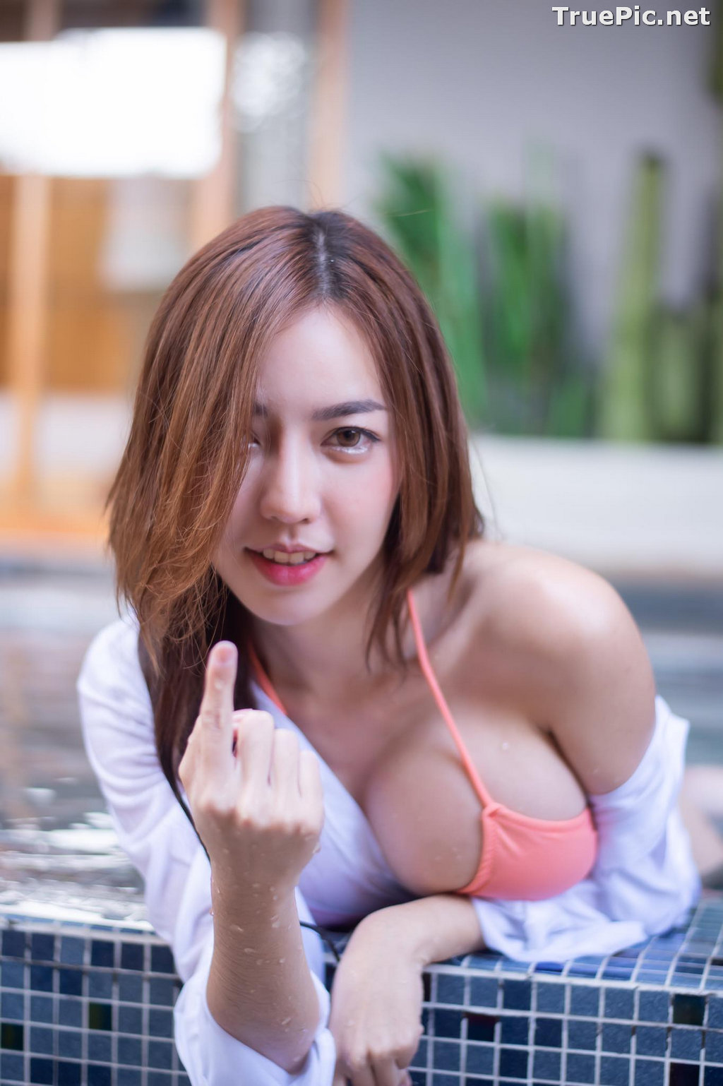 Image Thailand Model - Champ Phawida - Champ In The Pool - TruePic.net - Picture-6