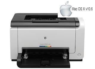 HP Laserjet P1025 - Mac OS X v10.6