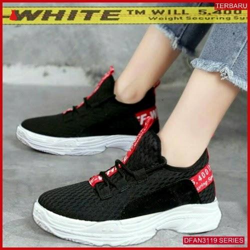 DFAN3119S43 Sepatu Cm10 Sneakers Off Wanita White Sneakers BMGShop