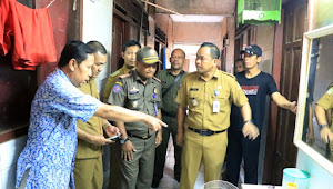 Pemkot Tangerang Segel Sementara Kontrakan Tanpa Jamban