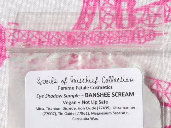 Femme Fatale Friday: Banshee Scream Eyeshadow Swatches & Review