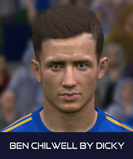 PES 2017 Faces Ben Chilwell by Dicky