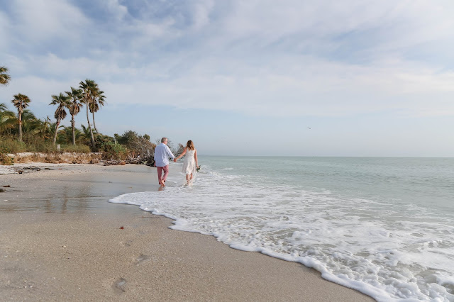 beach wedding on north captiva