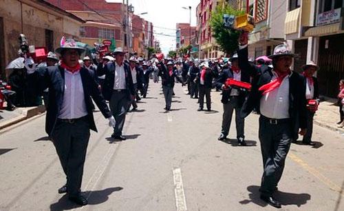 Danza, color y devoción en el Primer Convite del Carnaval de Oruro 2017