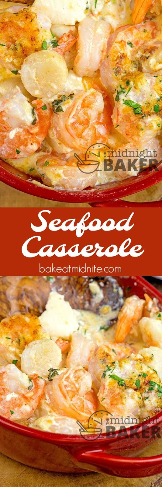 SEAFOOD CASSEROLE - Holiday Recipes