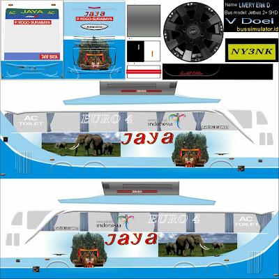 livery bussid shd jaya