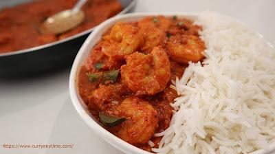 Prawns Curry - Goan style