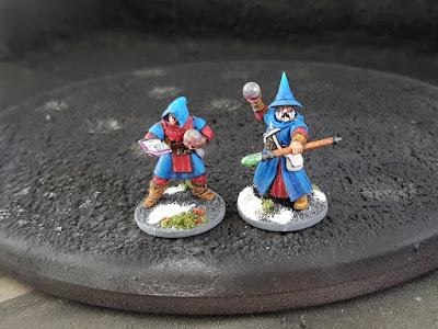 Frostgrave Plastic Wizard