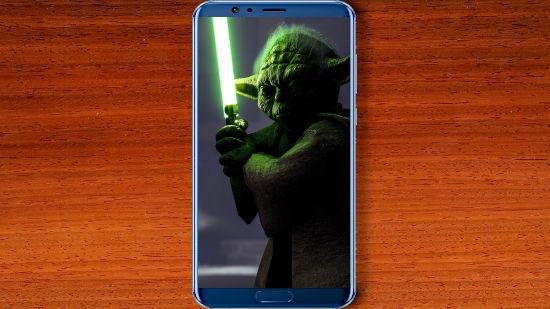 Yoda dans Star Wars Battlefront - QHD pour Mobile