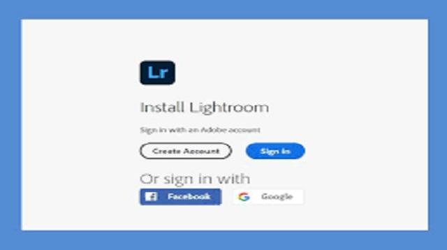 Cara Membuat Akun Lightroom