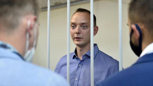 Rusia arresta a un asesor de agencia espacial por espiar para OTAN