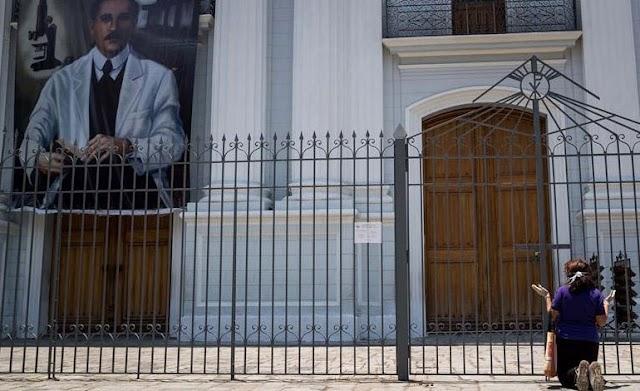 Templos permanecerán cerrados para evitar contagios