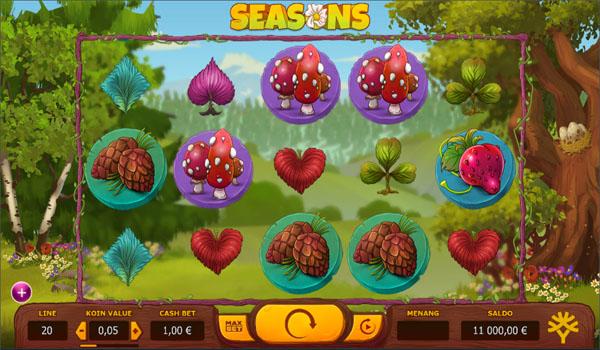 Main Gratis Slot Indonesia - Seasons Yggdrasil