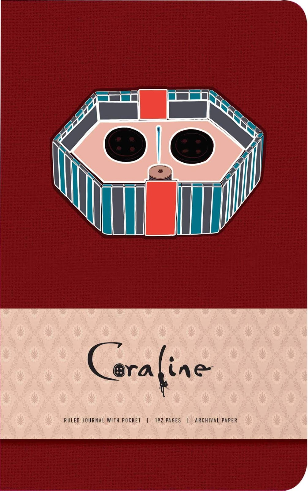 Two Coraline Journals For Snowy Winter Musings