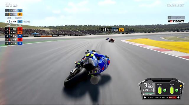 MotoGP 21 En carrera