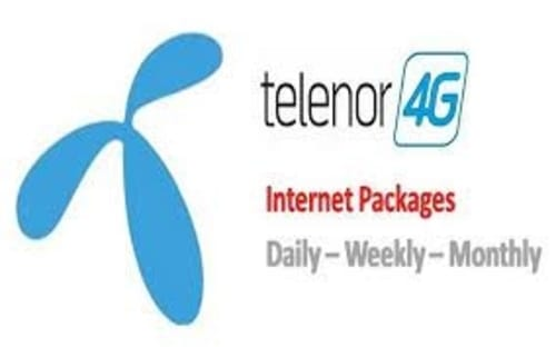 telenor daily internet package